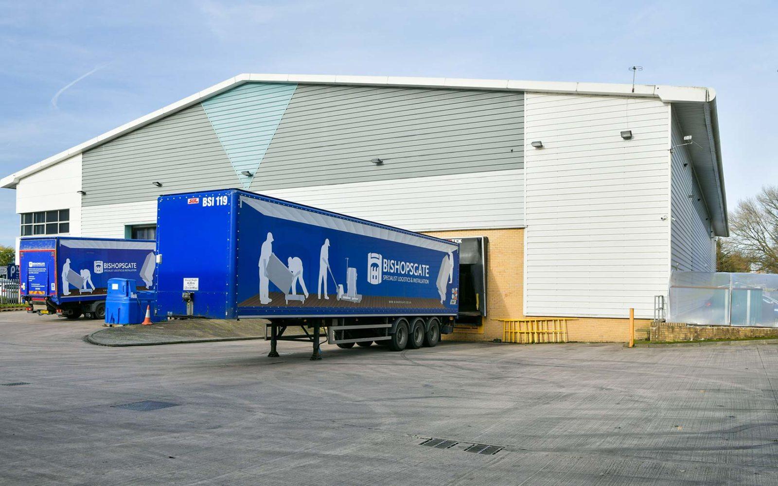 Lorries-loading
